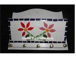 Porta Chave Mosaico