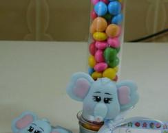 Kit Tubete + �m� Elefantinho em Biscuit