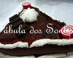 Torta de Chocolate com suspiro
