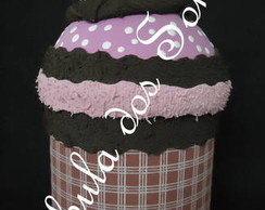 Cupcake Porta - Trecos de e.v.a.