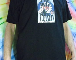 Camiseta The Who Live at Woodstock