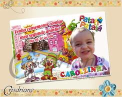 Convite Patati Patat� Cidade