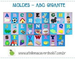 MOLDE ABC GIGANTE DE PAREDE - EVA