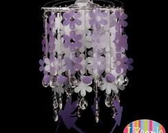 Lumin�ria Melissa de teto lil�s