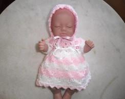 La Belle conj Vestido  bonecas
