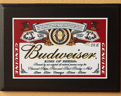 Quadrinho Decorativo Budweiser dec 10