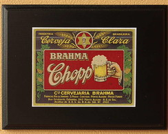 Quadrinho Decorativo Brahma Chopp dec 13