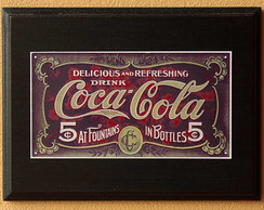 Quadrinho Decorativo Coca-Cola dec 36