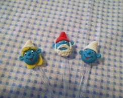 Colherinhas Smurfs