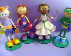 Bonecos Personalizados da turmaSuper why