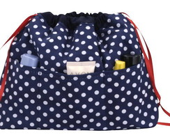 Organizador de bolsa po� azul marinho