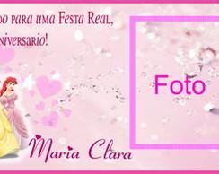 Convite Princesas modelo1