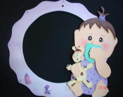 Guirlanda Maternidade Menina Lilas