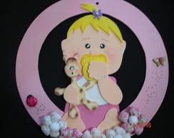 Guirlanda Maternidade Menina Rosa