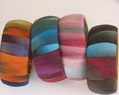 Pulseiras- braceletes em seda