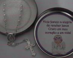 Latinhas c/ Mini Ter�o p/ Batizado