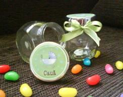 Mini baleiro personalizados nascimento