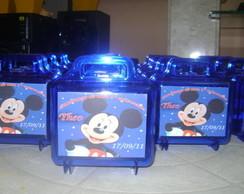 Maletinha personaliza Mickey