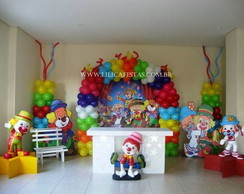 Decora��o Clean Circo do Patati Patata