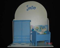 Guirlanda Cenario Quarto de Beb� Azul II