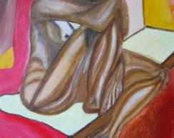 Pintura sobre tela:Depress�o