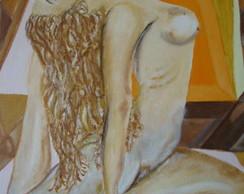 Pintura sobre tela: Ioga