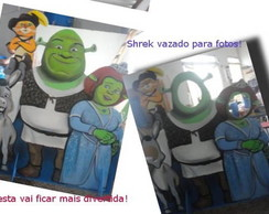 Display Shrek vazado para fotos