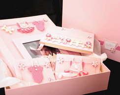 Kit Momentos do Beb� - Decorado
