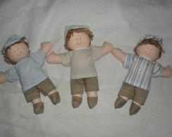 boneco mini de 15cm