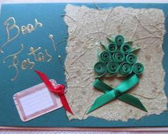 Cart�o de Natal - Ref. 1074