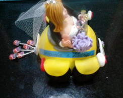 Topo de bolo para noivos
