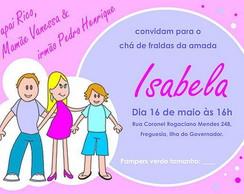 Convite FAM�LIA