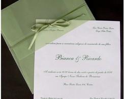 Convite Cl�ssico Verde