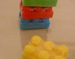 SABONETE LEGO MASSAGEADOR