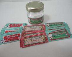 R�tulos para mini pote geleia (doce)