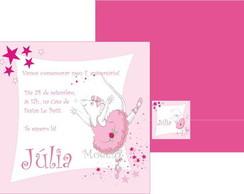Convite Angelina Ballerina 3