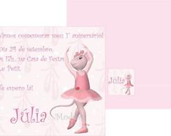 Convite Angelina Ballerina 2