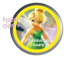 Latinha Mint to be  - Tinkerbell