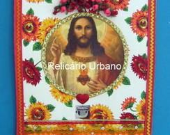 Estandarte Sagrado Cora��o de Jesus