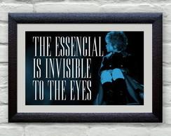 Poster Cine Frases: O Pequeno Pr�ncipe