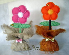 Flor - Peso de porta ou enfeite