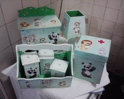Kit bebe Safari 7p�s pq