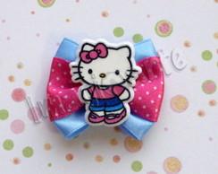 La�o Simples Azul/Rosa Hello Kitty
