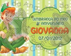 Peter Pan - R�tulo Adesivo