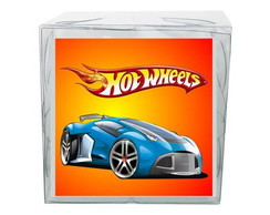 Caixinha de Acetato Hot Wheels