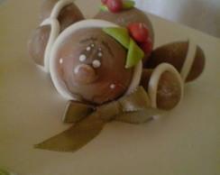 Caixa porta panetone ou bombons ginger
