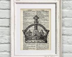 Poster P�gina de Dicion�rio Coroa