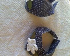 tiara faixa azul marinho