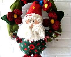 Projeto molde Noel florista