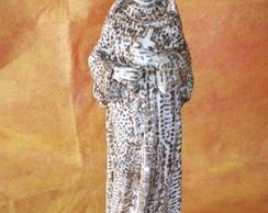 Escultura pirografada:S.Rita